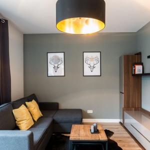 Mieszkanie pokazowe: aranżacja dla młodej pary. Fot. Red Park