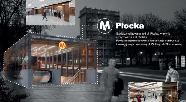 Rusza budowa stacji metra Płocka w Warszawie