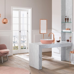 Kolor w łazience. Fot. Villeroy & Boch
