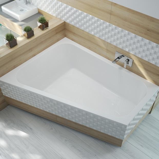 Komfortowa łazienka: wanna dla miłośników relaksu