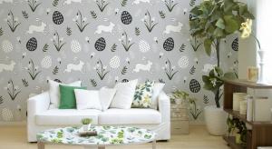 Obok pisanek, jednym z naszych ulubionych zwiastunów wiosny, jest oczywiście zajączek, którego możnapokazać nietypowo, bo na ścianach i meblach.