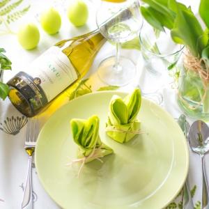 """Zieleń kryjąca się pod nazwą """"greenery"""" została okrzyknięta kolorem roku 2017. Pojawi się także w dekoracjach wielkanocnego stołu. Fot. Panul"""