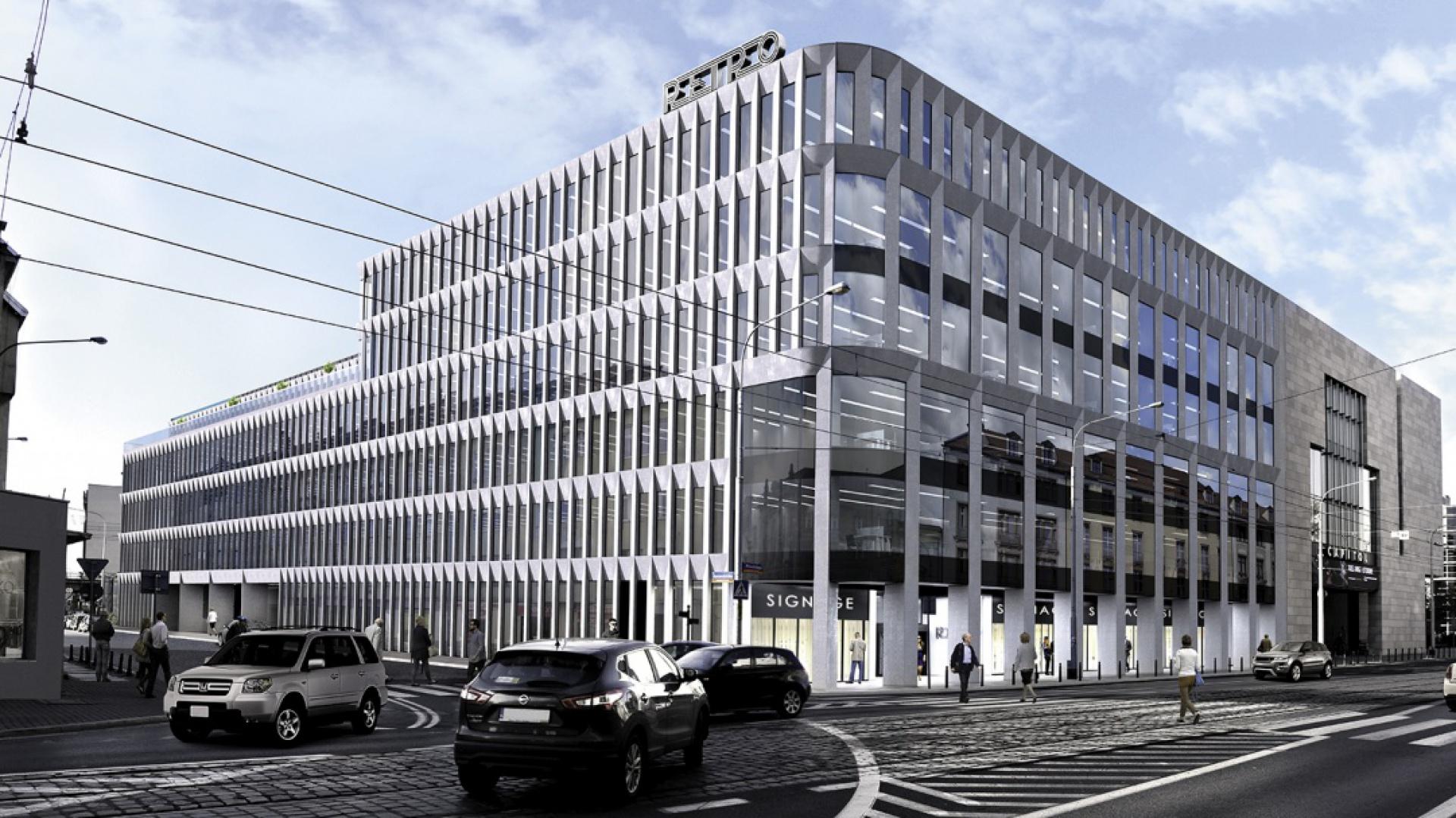 Retro Office House. Inwestycja LC Corp, projekt Kuryłowicz &Associates fot. mat. prasowe