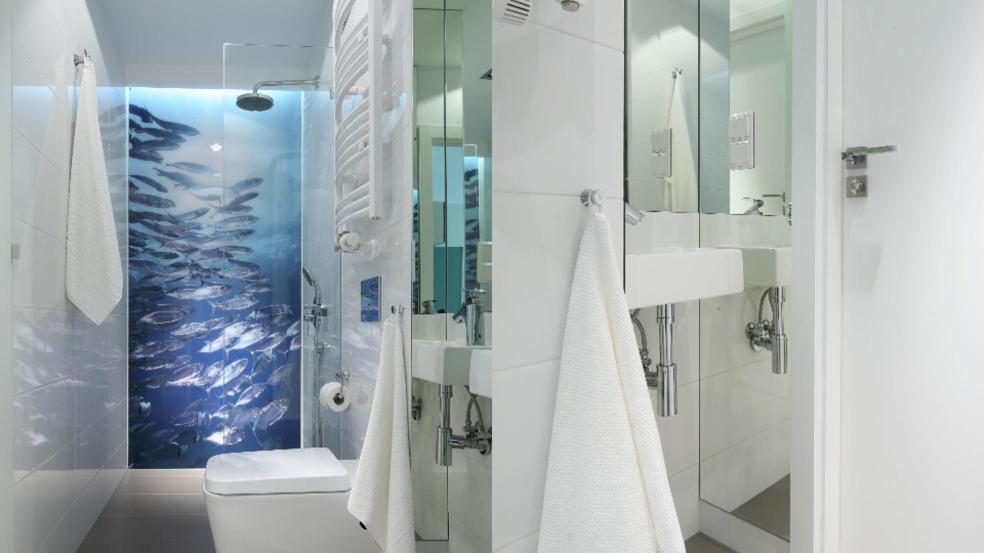 Małe łazienki Tak Urządzają Projektanci