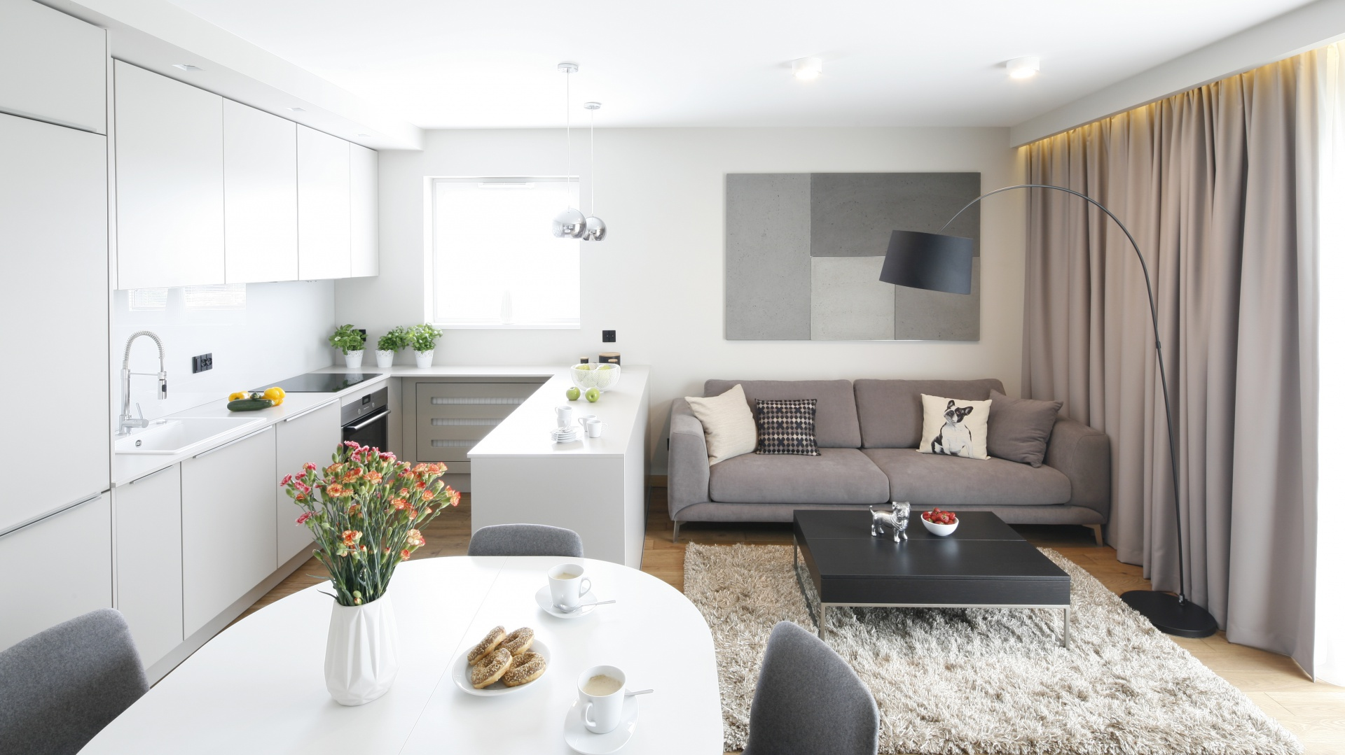 Ma y salon projekt ma y salon 20 propozycji z for Ikea petit appartement