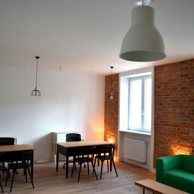 Wnętrze w stylu loft w Warszawie