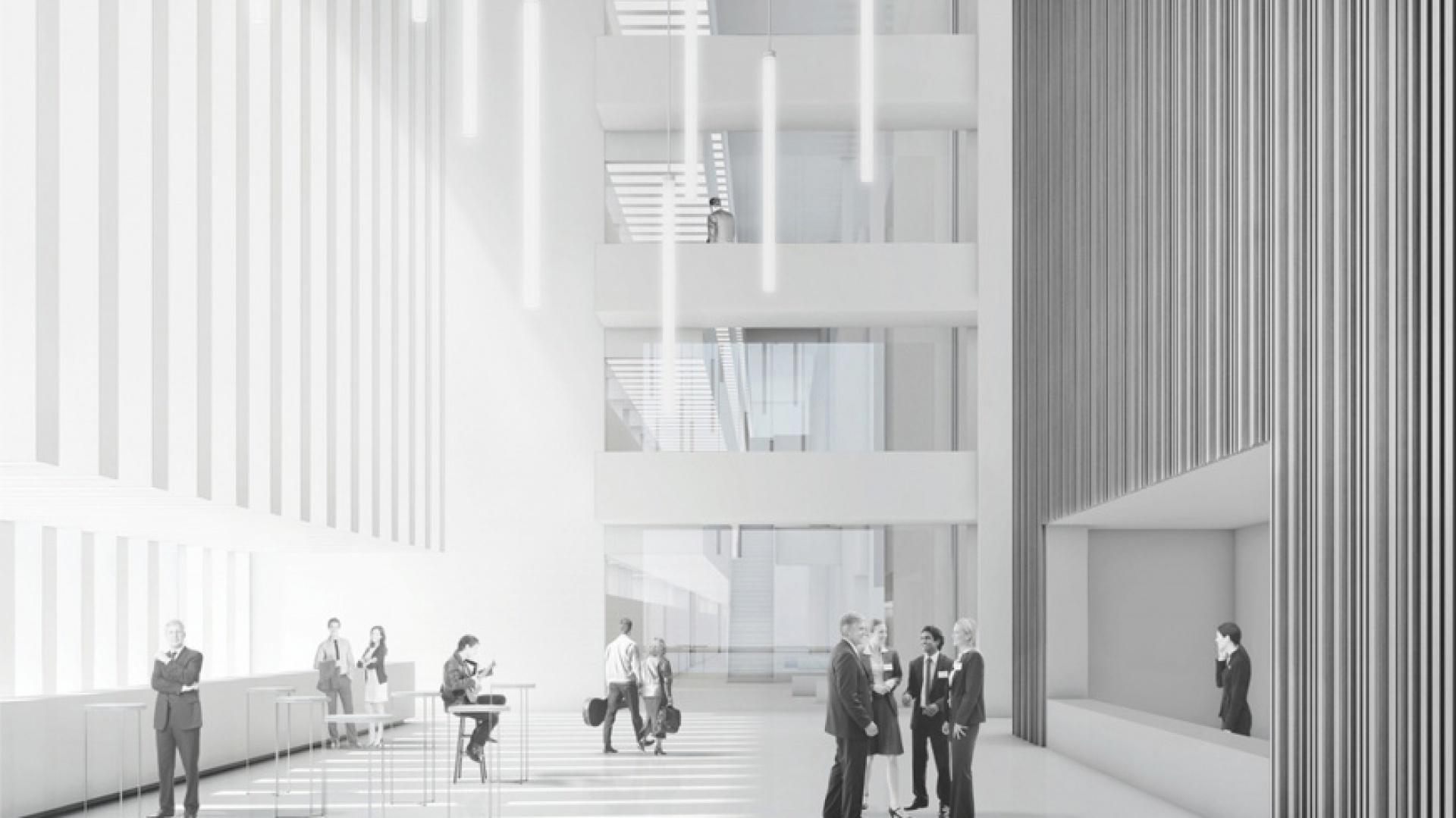 Artur Jasiński i Wspólnicy Biuro Architektoniczne otrzymało wyróżnienie honorowe w konkursie na opracowanie koncepcji nowego zespołu budynków dydaktycznych Akademii Muzycznej w Krakowie