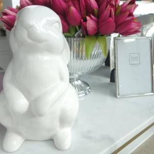 Wielkanocne dekoracje w amerykańskim stylu. Fot. Mint Grey