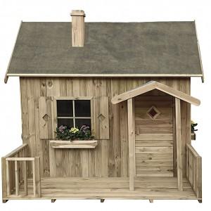 Drewniany domek Maja. Fot. 4IQ