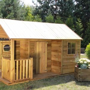Drewniany domek Szymon. Fot. 4IQ