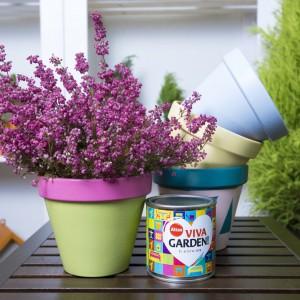 Urządzanie ogrodu na tarasie lub balkonie. Fot. Altax