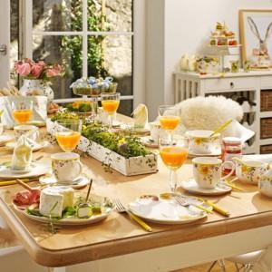 Pomysł na dekorację świątecznego stołu. Fot. Villeroy&Boch