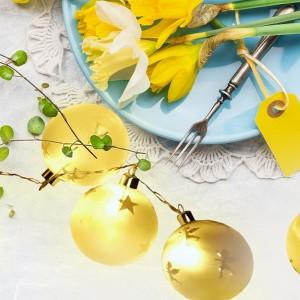 Dekoracja stołu na Wielkanoc. Fot. Activejet