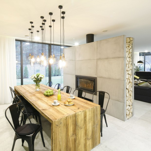 Piękny dom w stylu nowoczesnym. Ten projekt robi wrażenie!