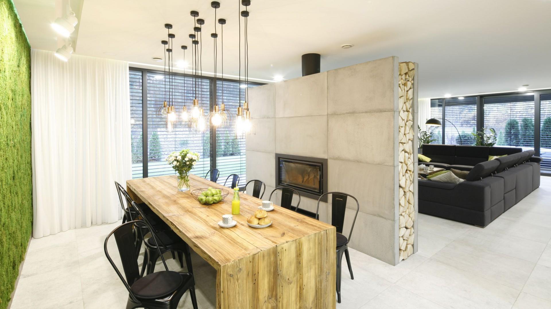 Nowoczesny dom w loftowym stylu. Projekt: Dariusz Grabowski. Fot. Bartosz Jarosz