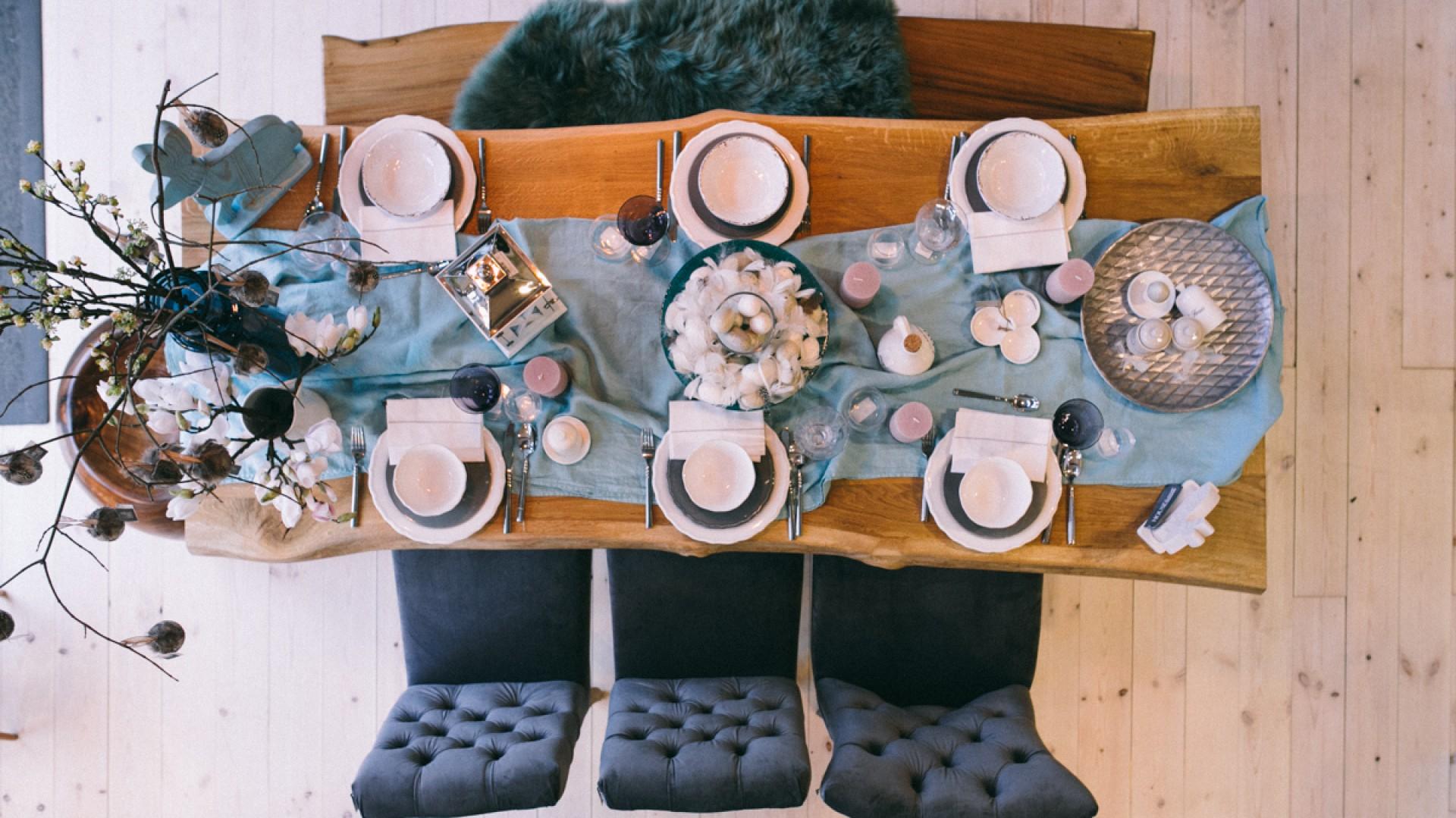 Stół na Wielkanoc. Fot. Miloo Home