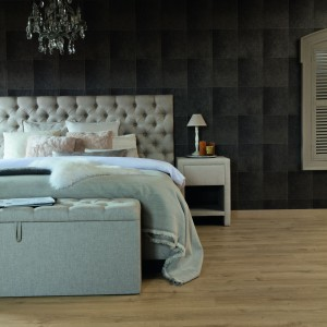 Sypialnia na poddaszu. Fot. Quick-Step