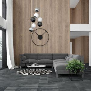 Płytki gresowe Solid 2.0 Beton dark grey. Fot. Opoczno.
