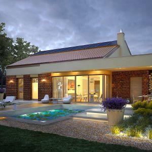 Dom jesat maksymalnie otwarty na ogród. Fot. Pracownia Projektowa Archipelag