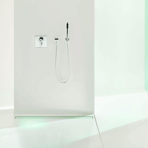 Strefa prysznica: wybierz odwodnienie liniowe