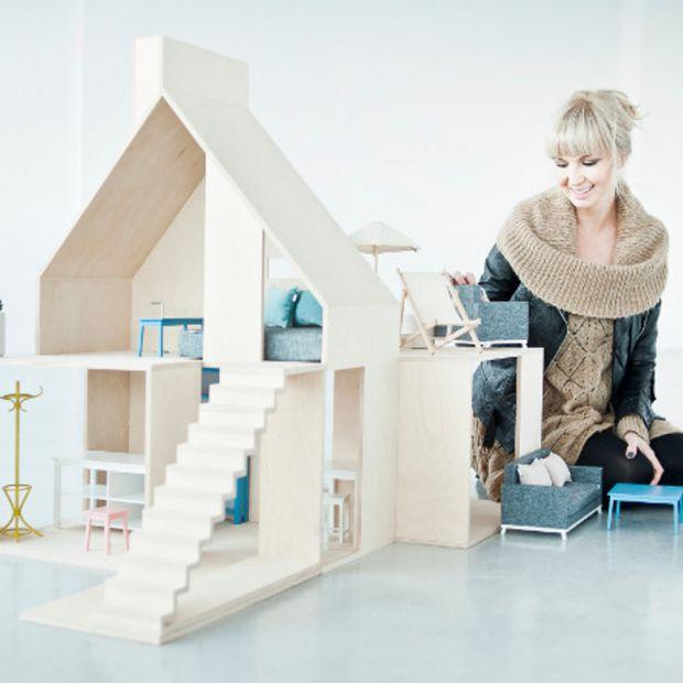 Luksusowe domki dla lalek . Zobacz wyjątkowe projekty