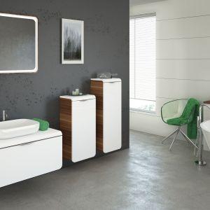 Białe meble do łazienki: kolekcja Moccao firmy Devo, www.devo.pl. Fot. Devo