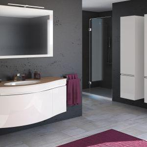 Białe meble do łazienki: kolekcja Vena Arte firmy Devo, www.devo.pl. Fot. Devo