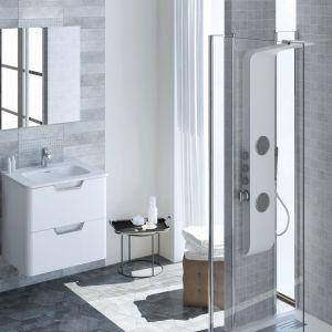 Białe meble do łazienki: kolekcja Enjoy. Fot. Elita