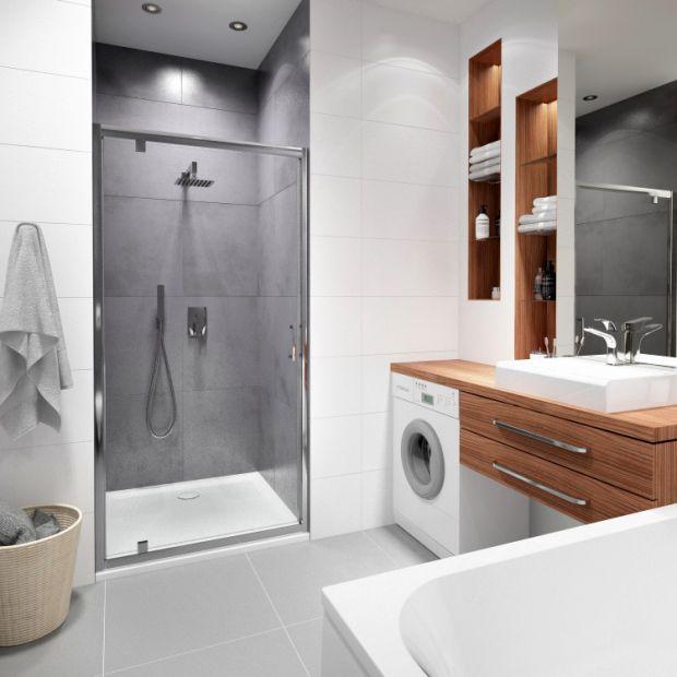 Mała łazienka w bloku - pomysł na urządzenie