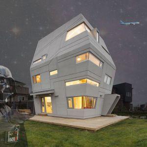 """Dom jest realizacją marzeń właściciela, który jest fanem """"Gwiezdnych Wojen"""" i zawsze pragnął zostać astronautą."""