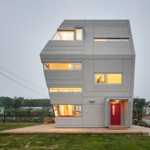 Ten futurystyczny budynek o ekstrawaganckim charakterze zaprojektowało koreańskie biuro architektoniczne Moon Hoon Land. Fot. Namgoong Sun