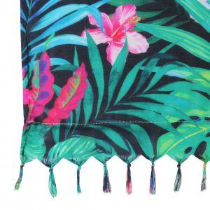 Duży ręcznik ręcznik BALI zachwyca niezwykłą feerią barw. Fot. Home&You