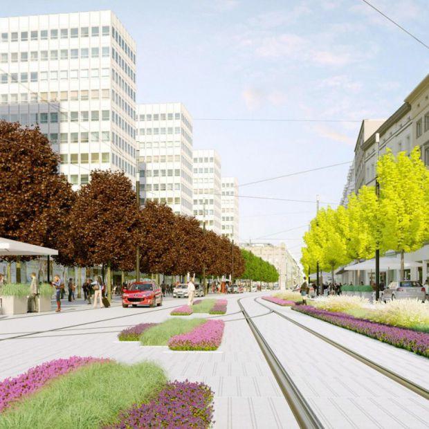 Zmiany w centrum Poznania