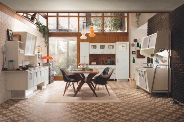 Kuchnia w stylu retro: zobacz pomysły na meble