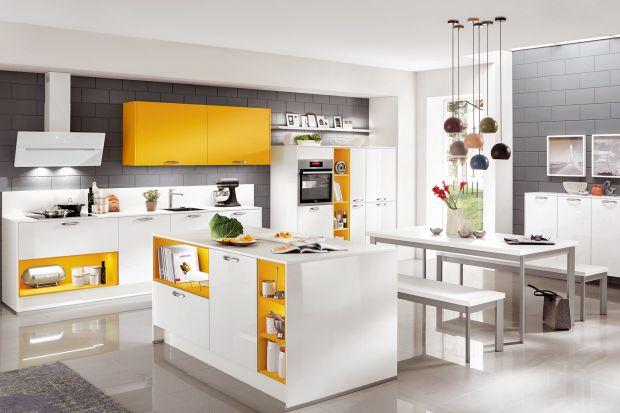 12 pomysłów na kolorową kuchnię