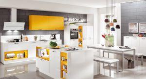Żółty, zielony a może czerwony?Zobaczcie jakie kolory pięknie zaprezentują się w kuchni.