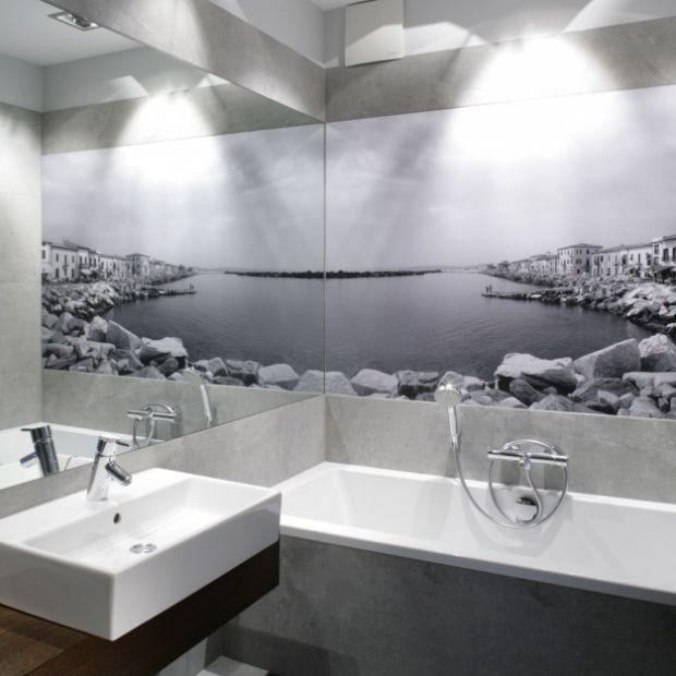 Fototapeta w łazience: 12 wnętrz z polskich domów