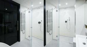 Strefa prysznica, w której na podłodze zamiast brodzika położone są płytki i zamontowane odwodnienie jest coraz popularniejsza. Zobaczcienasze propozycje.