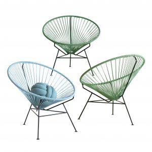 Kultowy fotel ACAPULCO w nowej kolorowej odsłonie. Fot. OK Design