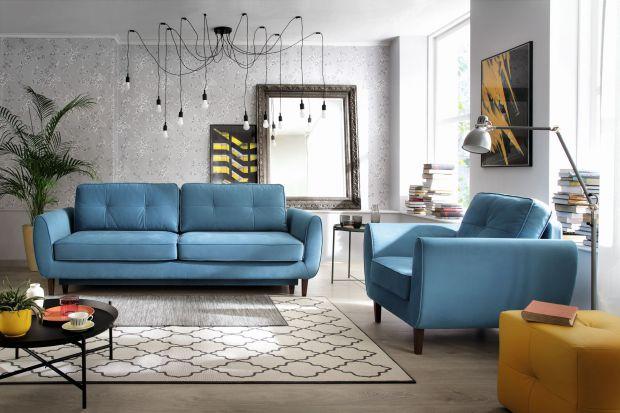 Trendy do salonu: na topie róż, błękit i tropiki