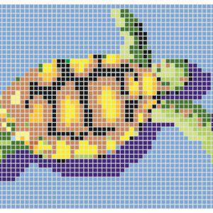 Mozaika basenowa Q Turtle. Fot. Dunin