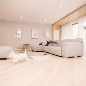 Przestronny apartament dla rodziny. Projekt: Magdaleny Koszczuk, Pracownia Louba. Fot. Louba