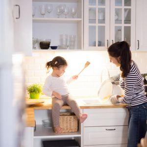 Kuchnia małej rodziny. Fot. Häfele
