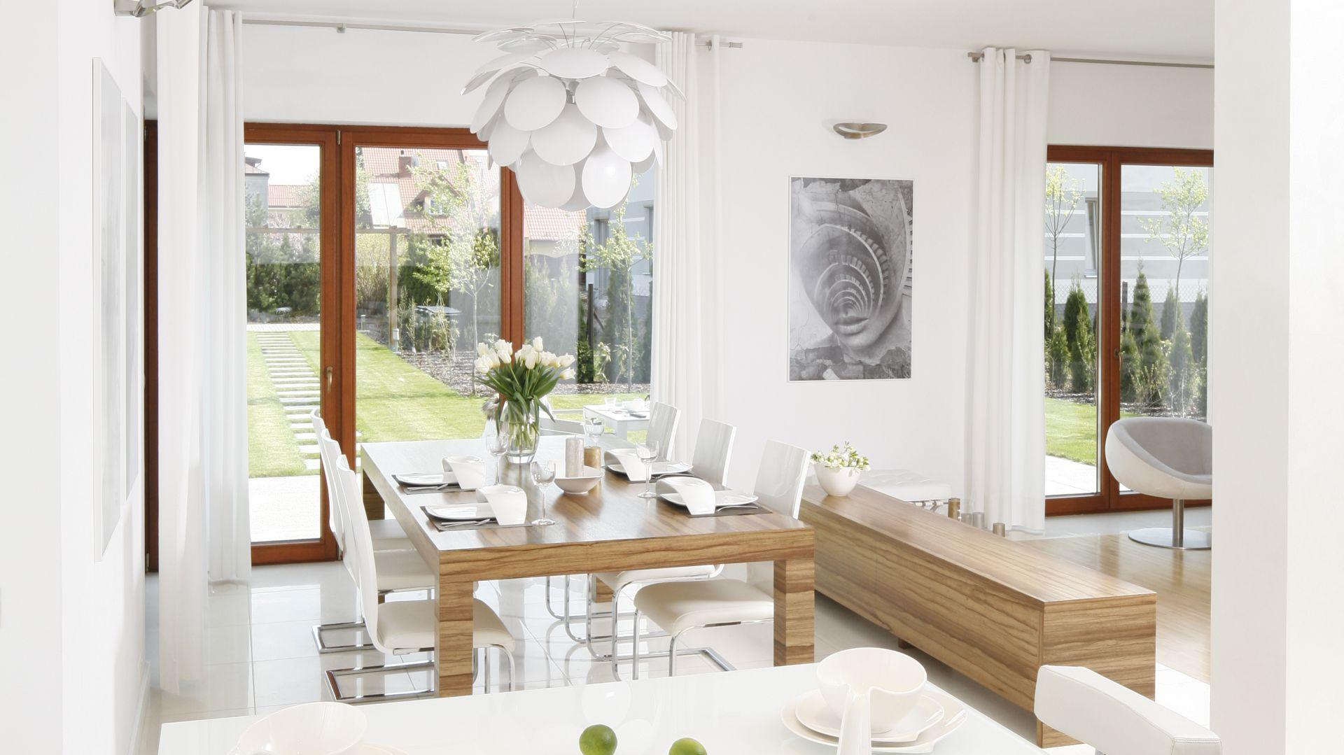Rodzinna Kuchnia Z Wyspą Piękny Projekt