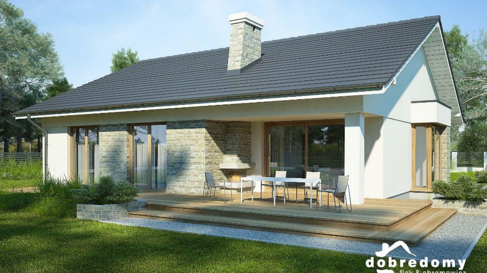 Projekt domu Lukrecja II. Fot. Dobre Domy