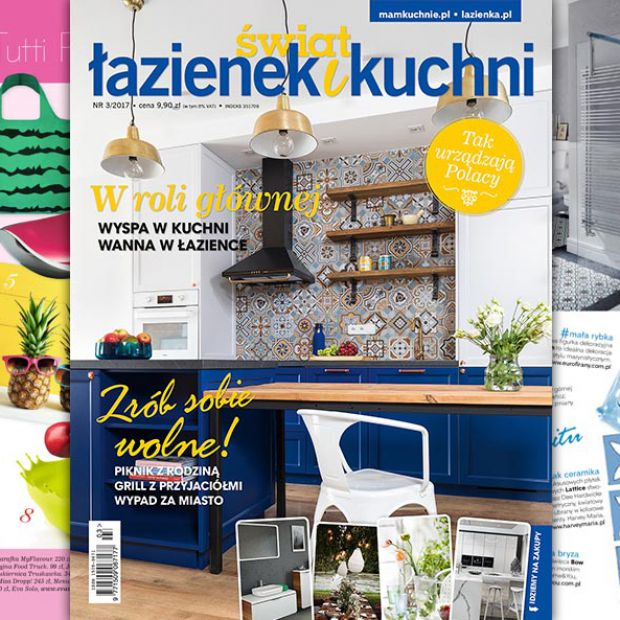 Świat Łazienek i Kuchni (3/2017) - nowy numer już w sprzedaży