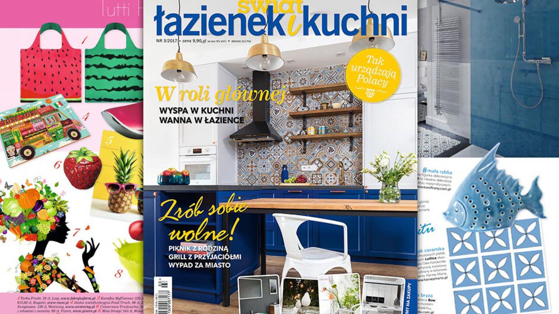 Świat Łazienek i Kuchni (3/2017)