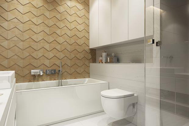 Jasna i przytulna łazienka - nowoczesna aranżacja wnętrza