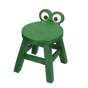 Meble i zabawki dla dziecka. Taboret Frog. Fot. Dekoria.pl