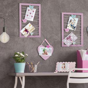 Pomysłowe, dekoracyjne ramki wiszące. Fot. Eurofirany
